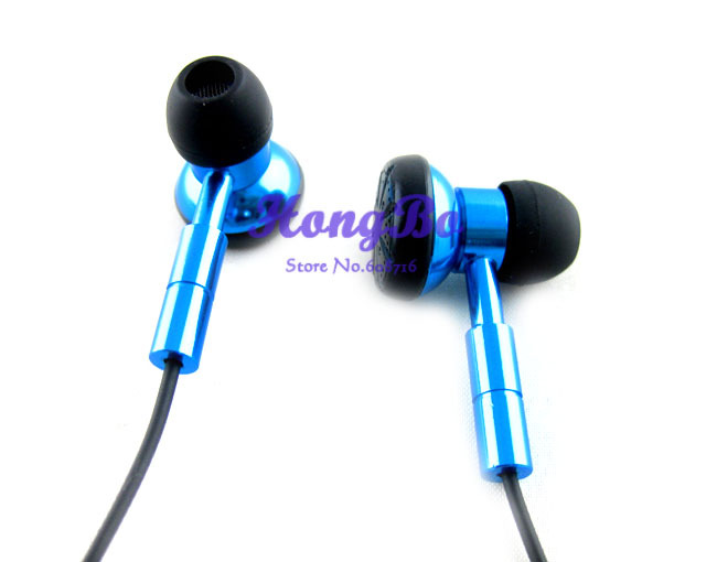 new fashion high resolution sound high quality HD headphones earphone with   Super bass in ear earphones mp3 mp4 mobile phone