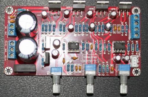 Tda2030 2.1 стерео усилитель 2