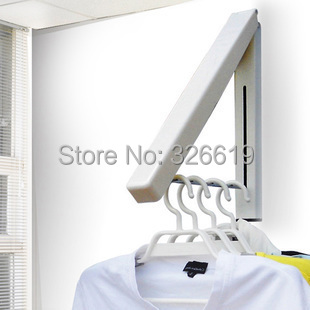 Free shipping living room furniture coat rack home furniture Multifunctional fashion wall hangers folding drying rack coat rack(China (Mainland))