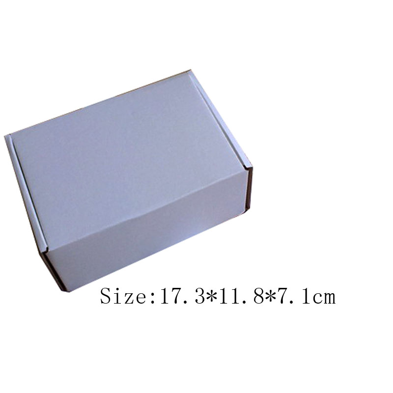 Free shipping wholesale 25pcs/lot 17.3*11.8*7.1cm fashion white children's shoe box corrugated board box Gift Packaging Boxes(China (Mainland))