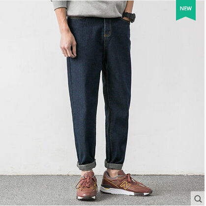 Original Brand Winter Men Skateboarding Jeans Fashion Mens Clothing Casual Denim Loose Pants Mens Trousers<br><br>Aliexpress
