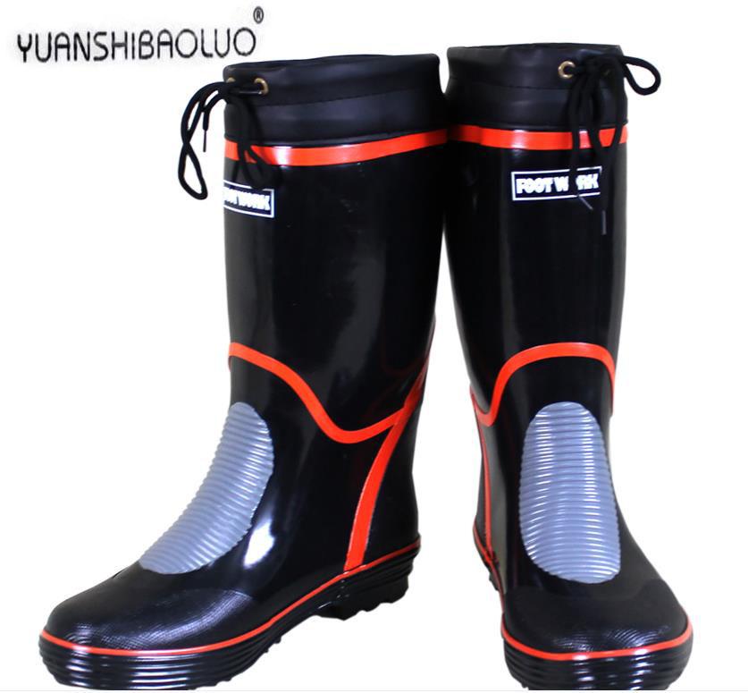 Popular fishing rubber boots buy cheap fishing rubber for Rubber fishing boots