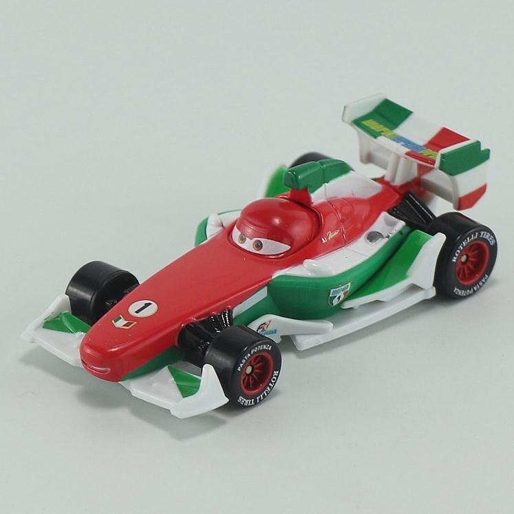 Pixar Cars Diecast Francesco Bernoulli Metal Toy Car For Children 1:55 Loose Brand New In Stock Lightning McQueen(China (Mainland))