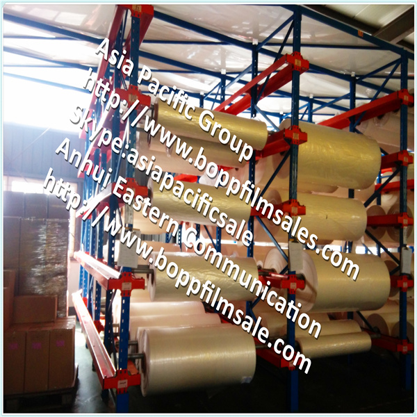 BOPP laminating film with hot melt adhesive(China (Mainland))
