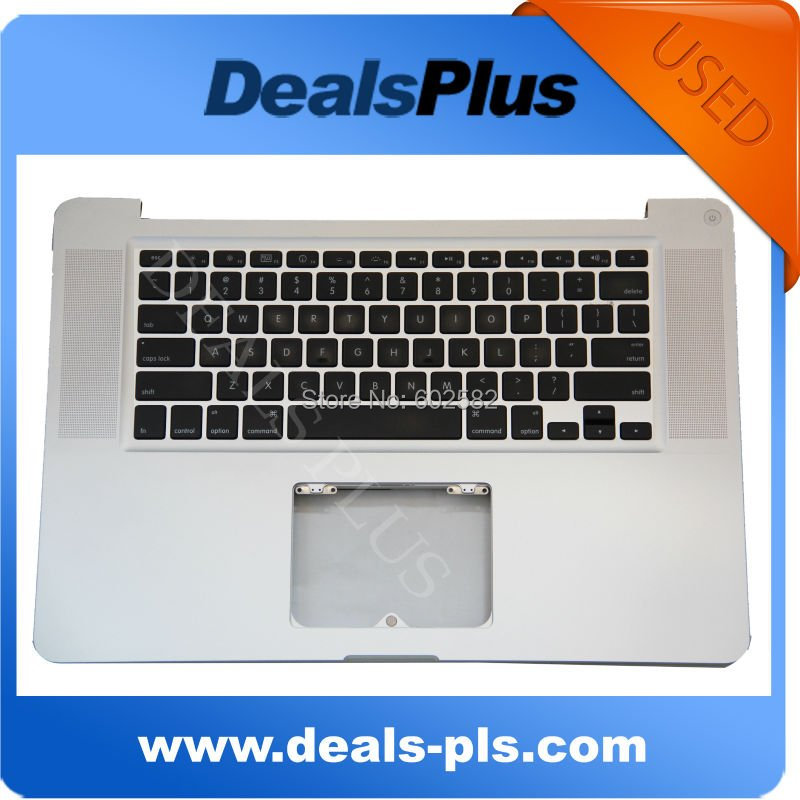 Tested !  FOR Macbook Pro A1286 15 Unibody 2009 Top Case &amp; US keyboard &amp; No Touchpad<br><br>Aliexpress