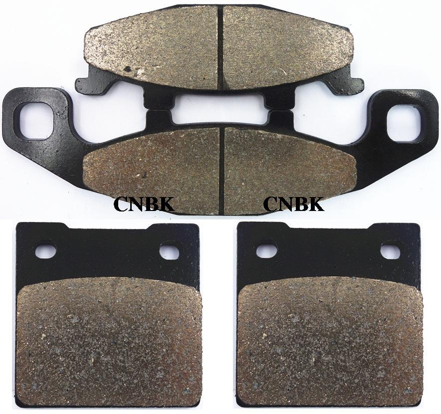 Sinter Disc Brake Pads Set for SUZUKI 400 GSF M / N / P Bandit GSF400 1991 1992 1993 1994 1995(China (Mainland))