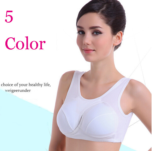 Absorb Sweat Plus Large Size A B C D Cup Seamless Sports Bras Top Padded Professional Vest Push Up Fitness Bra For Women Girl(China (Mainland))
