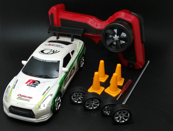 Nissan 1/24 mini high speed 4WD Drifting electric/electronic remote control toys car racing car Especially designed for drifting(China (Mainland))