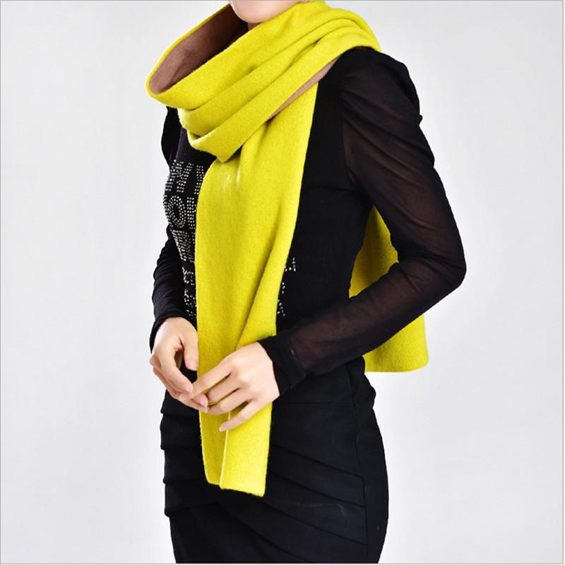 LING/New Winter Keep Warm Lady Wool Neck Scarf,British Style Fashion Double-Sided Printing Pattern,Woman Warm Wool Shawl /W008(China (Mainland))