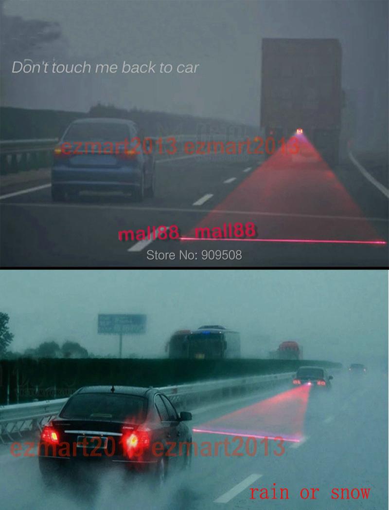 1 х сигнал сигнальная лампа автомобиль лазерная противотуманные фары сзади предотвращения столкновений безопасности движения