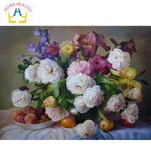HOME BEAUTY digital oil painting by numbers diy coloring paint on canvas gift craft picture wall craft hand painted G339(China (Mainland))