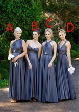 Long Bridesmaid Dress 2015