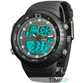 TIMIEP Big Size Men s Gold Outdoor Sport Chronograph Analog Digital Writ Watch C1275 50M WaterProof