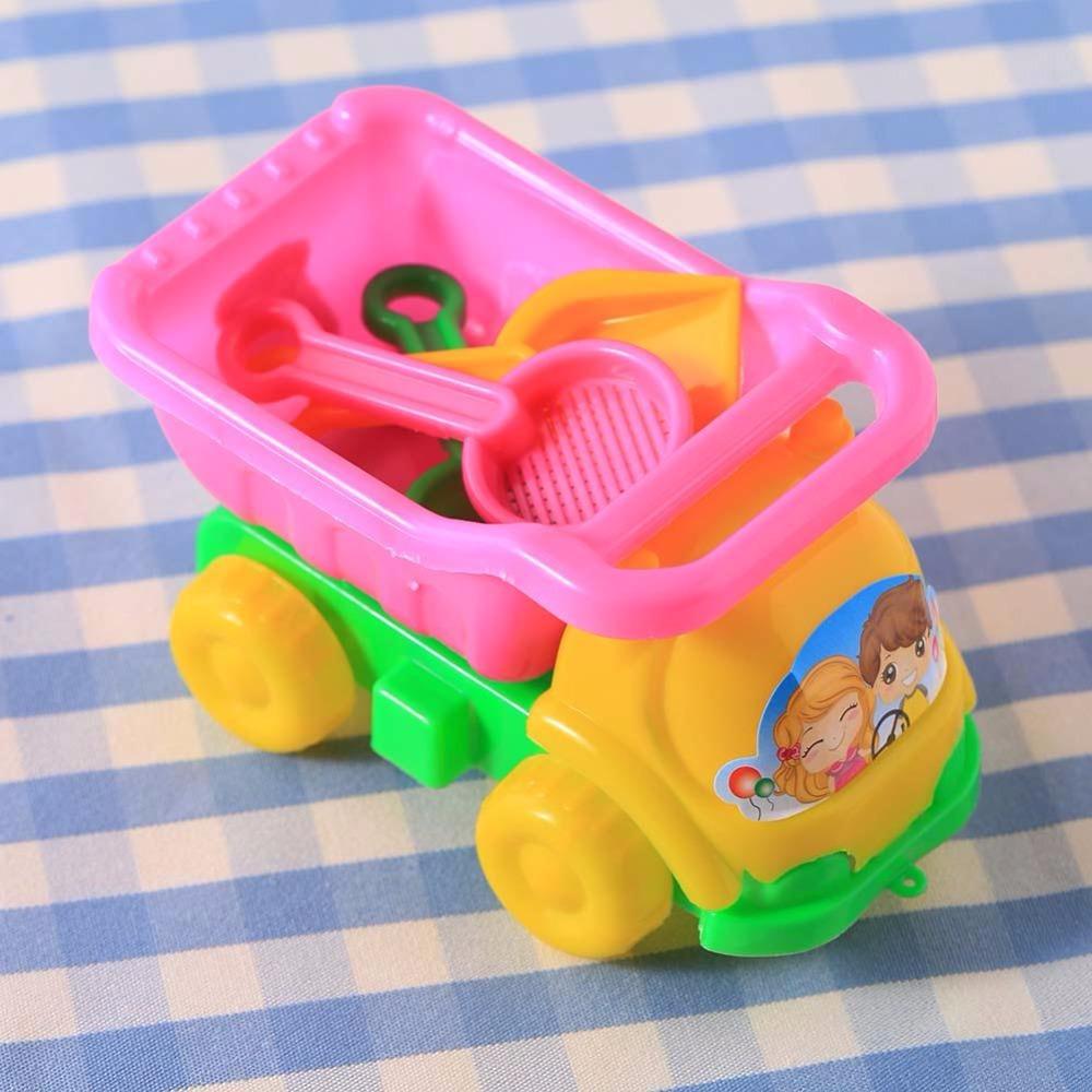3Pcs Sand Rake Dump Truck Spade Shovel Children Kids Baby Boys Girls Fun Play Beach Toys Set(China (Mainland))