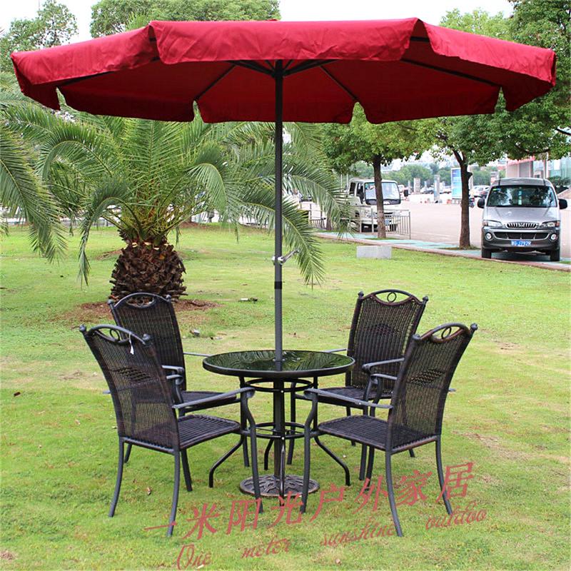 2.7 slouch outdoor umbrellas umbrella sun beach patio booth tea shop coffee<br><br>Aliexpress