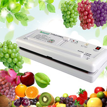 Buy Household automatic vacuum sealing machine plastic bags vacuum closing machine food saver preserver ZF for $49.00 in AliExpress store