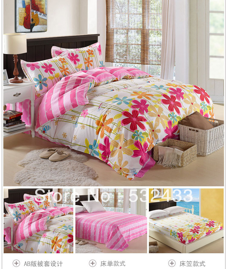 Hot Discount Fitted King Size Girls Quilt Twin Full