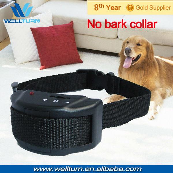 Promotion 5pcs/Lot Free shipping Anti bark collar Importers for dogs for Little/ Medium / Big Stubborn Dog(China (Mainland))