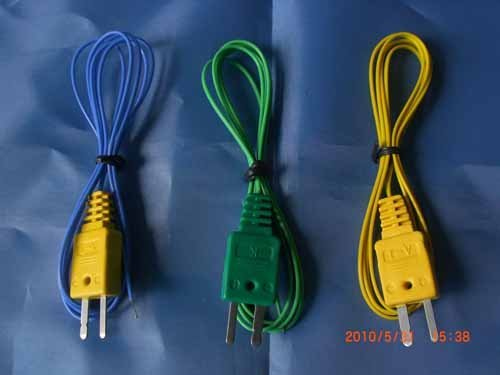 Thermocouple Extension Cables with Molded Connectors, quick connector, mini size