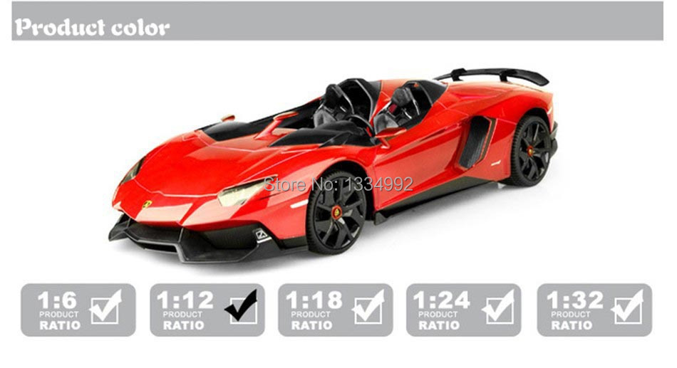 perfect high simulation 112 scale red mini remote control electronic carsrc model