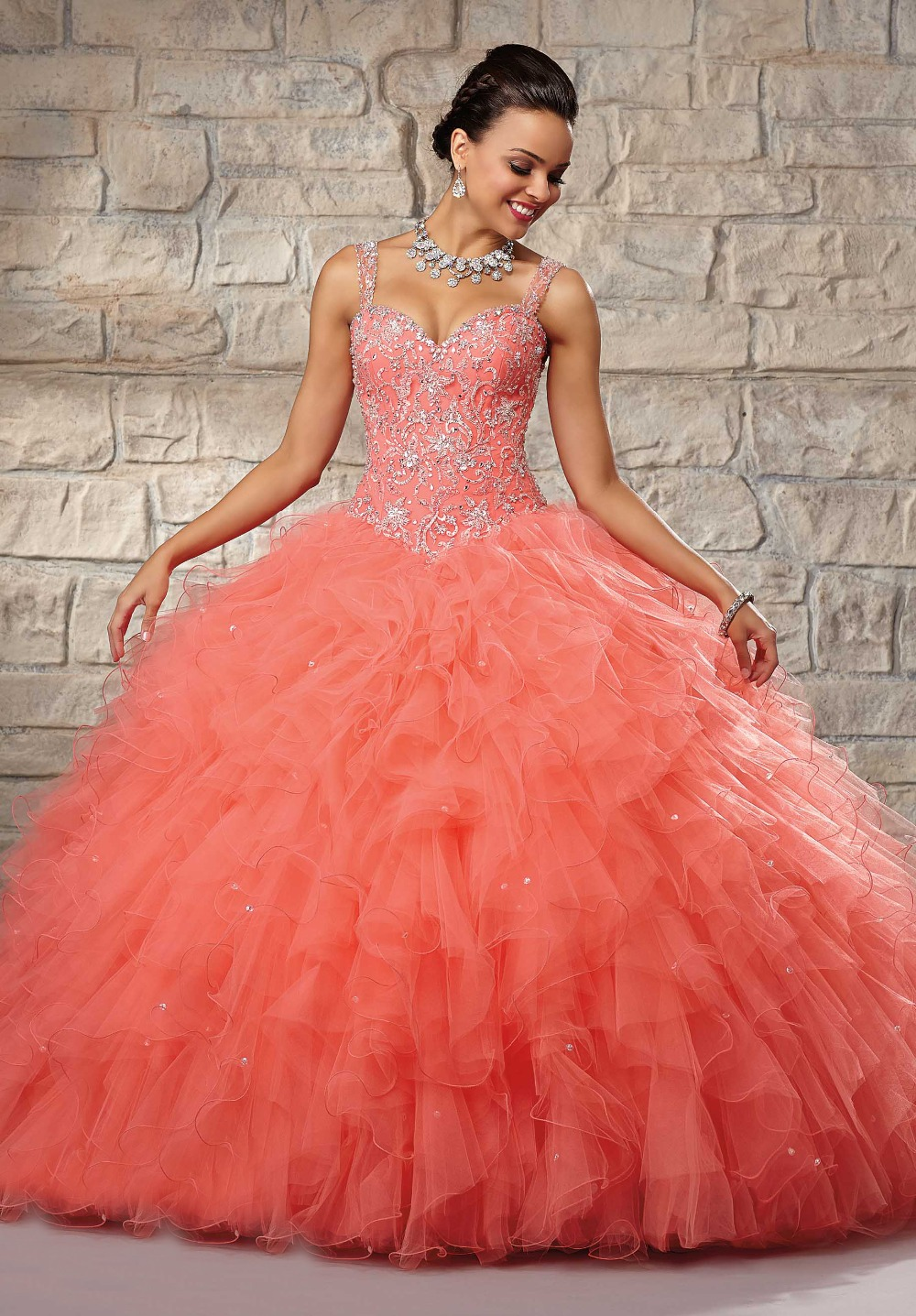 Online Get Cheap Sweet 16 Dresses with Lace Tops -Aliexpress.com ...