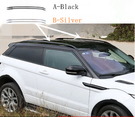 2pcs/lot Aluminium Alloy OEM Type Roof Rack Side Rails Bars Luggage Carrier FOR Land Rover Evoque 2012 2013 2014 2015(China (Mainland))