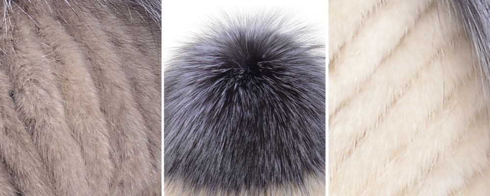 QUEENFUR 2016 Winter Warm Hats Fashion Ear Protector Silver Fox Fur Ball Cap Real Mink Fur Bomber Hat Women Cozy Elasticity Hat