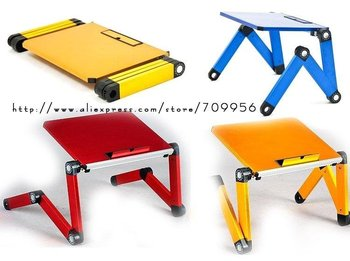 T3: Portable Notebook stand, Ipad table, folding laptop desk, FREE SHIPPING,FACTORY PRICE