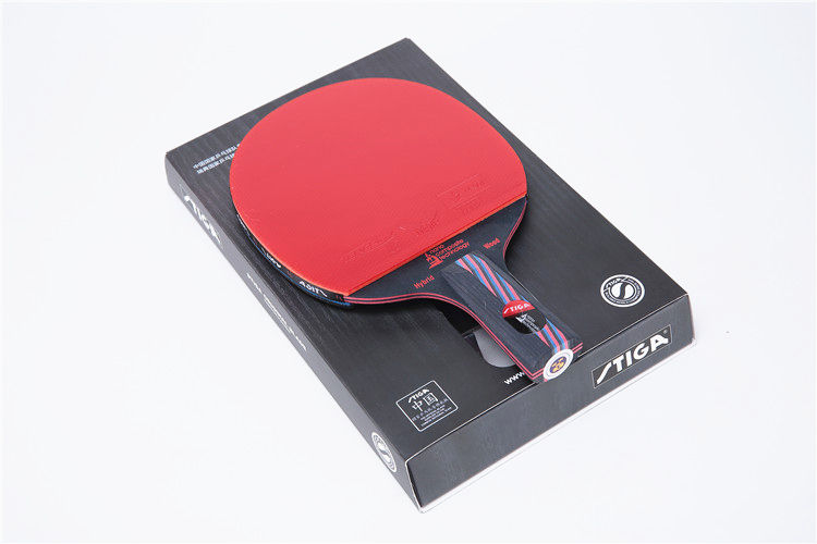 Quality Stiga table tennis racket pat Hybrid Wood 9.8 table tennis blade Double inverted rubber PINGPONG paddle(China (Mainland))