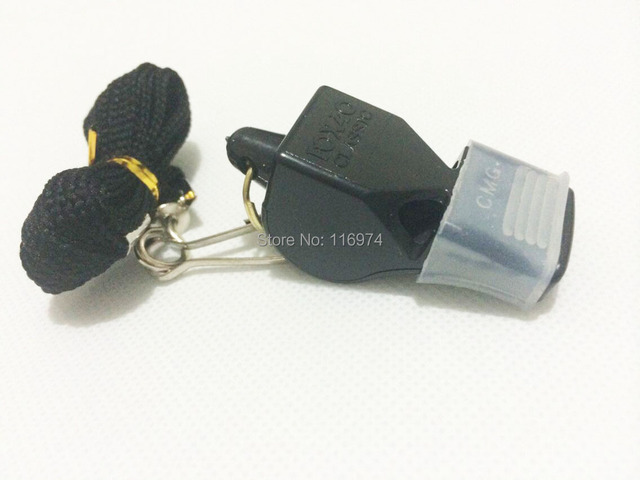 new fox  football soccer whistle basketball referee whistle wholesale lifesaving whistle emergency whistle in stock