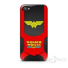 For iphone 4/4s 5/5s 5c SE 6/6s plus ipod touch 4/5/6 back skins mobile cellphone cases cover Wonder Women Logo