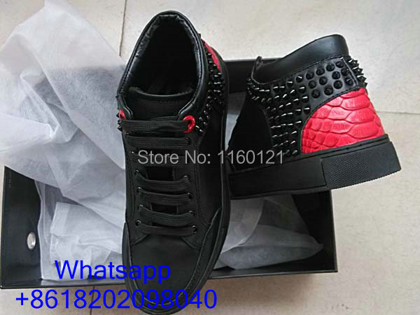 royaums girls kilian black red shoes real suede leather 100% real pictures