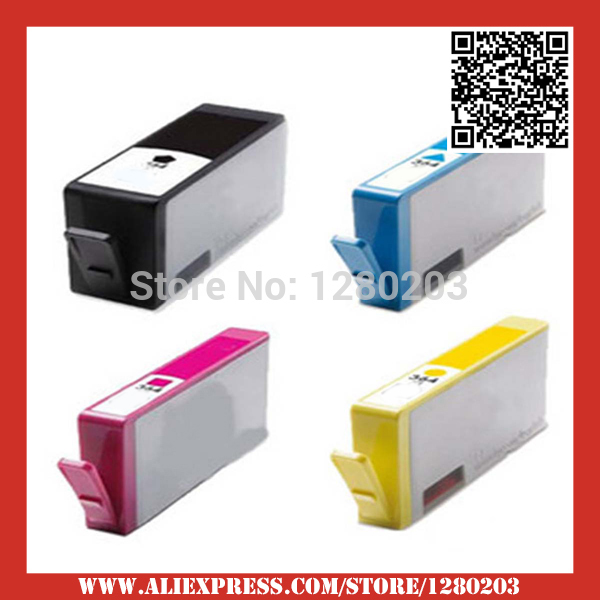 4pcs compatible ink cartridge for hp 364 xl for hp photosmart 5510 5511 5512 5514 5515 5520 5522. Black Bedroom Furniture Sets. Home Design Ideas