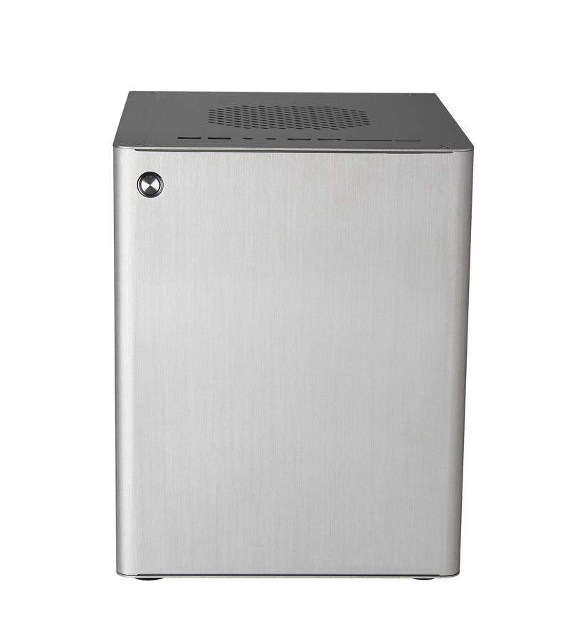 Realan D5S Black Mini ITX Aluminum Chassis Server Rack Case Computer, 2 x PCI Slots, WIFI COM USB2.0 USB3.0(China (Mainland))