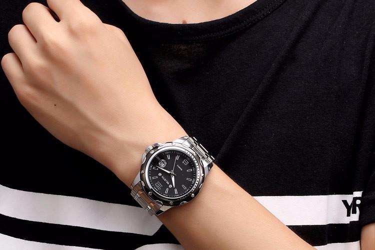 Luxury Brand Watch WLISTH Men Dress Quartz Watch Fashion Stainless Steel Strap Wrist Watch With Luminous Pointer Male Wristwatch
