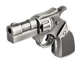 Brand New Fashionable Gun Model 4GB 8GB 16GB USB 2.0 Flash Memory Stick Pen Drive Thum/Car/Pen U Disk