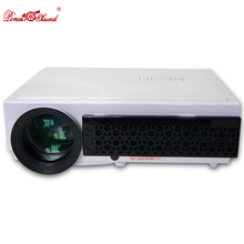 HTP Fashion proyector Full HD led 3D Projector Home Theater cinema data show Support 1080p android Wifi system bluetooth Beamer(China (Mainland))