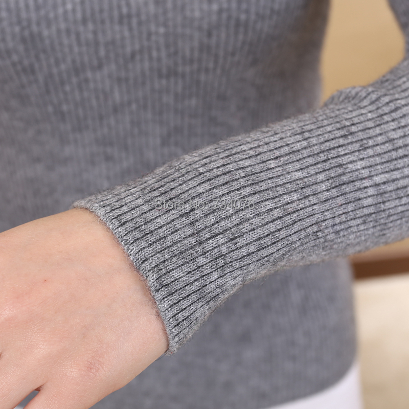 18 colors 2015 New Women Cashmere Sweater Women fashion Autumn and Winter Warm Turtleneck Sweater Women