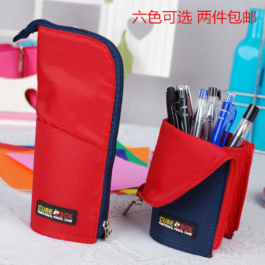 Brief pen type pencil case stationery school supplies prize(China (Mainland))