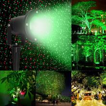 Étanche extérieure jardin paysage éclairage RGB Laser Stage de lumière lampe voler luciole projecteur de lumière pour la fête de noël(China (Mainland))