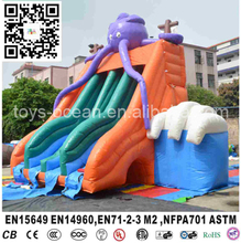 Commerical mega inflatable octopus slide for sale/ cheap inflatable slide for kids(China (Mainland))