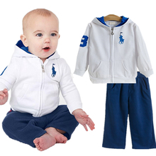 2016 Brand Children clothing set kids tracksuit sports suit Baby girls/boy zipper Jacket+ pants jogging casual clothes Kids new(China (Mainland))