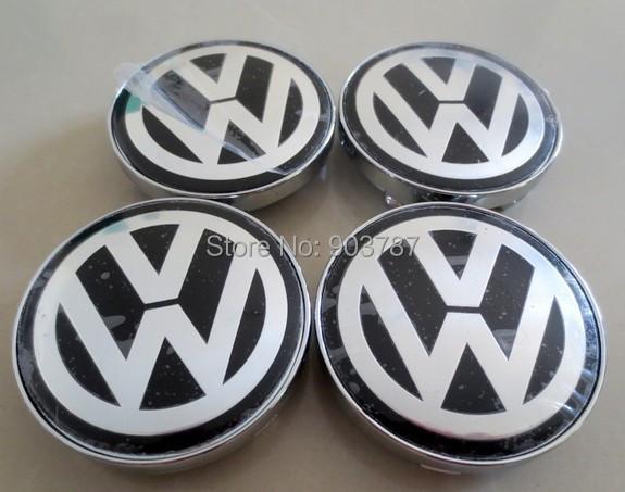 4pcs 60mm VW Chrome Wheel Centre  Caps Hubs cover volkswagen car emblem Badge POLO GOLF PASSAT TOURAN w4301<br><br>Aliexpress