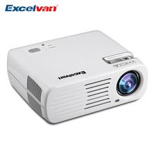 Excelvan EHD11 Theater Video LCD/LED Projector 2600 Lumens Multimedia Home Cinema Proyector 800x480 USB/AV/HDMI/ATV/VGA TFT(China (Mainland))