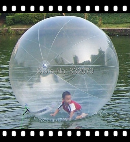 I walk on Kids hot sale kids water ball/Top Cheer Transparent Promotional high quality inflatable water walking ball(China (Mainland))