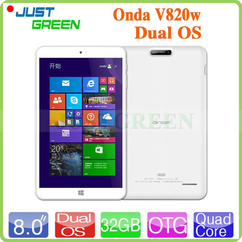 Onda V820W Win 8.1 Tablet PC 8inch 1280x800 IPS Screen Intel Z3735F 64Bit Quad Core 1.83GHz 2GB RAM 32GB ROM 2.0MP OTG WIFI HDMI