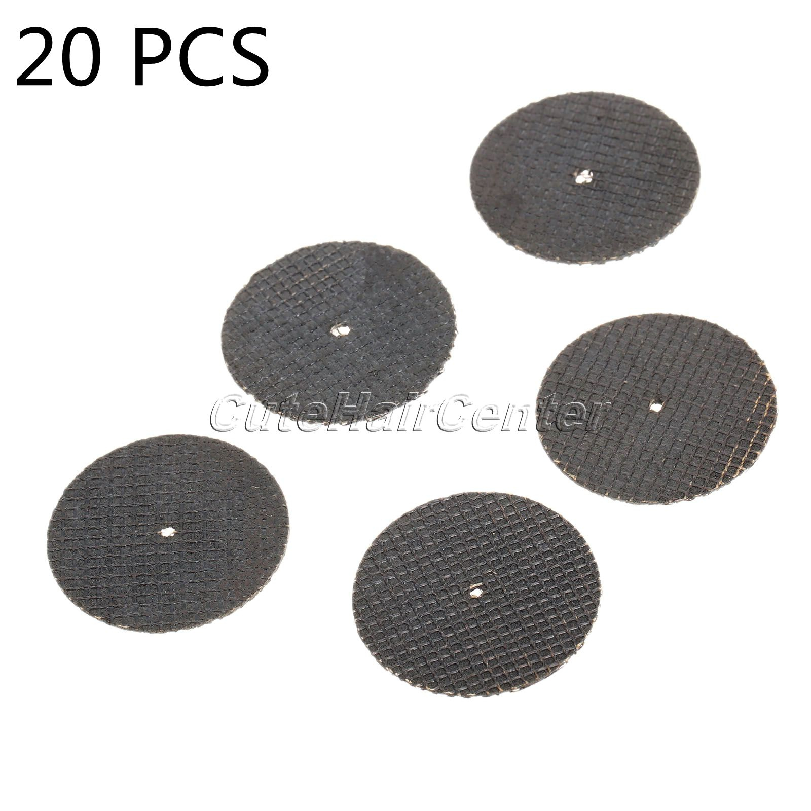 20 pcs Fibre Resin Cut Off Wheel Disc Dual Cutting Wheel Sanding Discs for Dremel Rotary Tools Abrasive Tools for Cutting 38mm(China (Mainland))