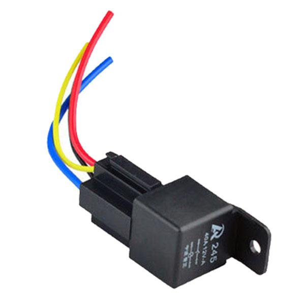 2015 nieuwe collectie 12 v 12 volt 40a auto automotive relay socket 40 amp relais & draden VEB89 p(China (Mainland))