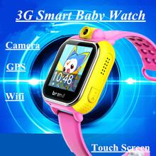 Buy Kids Smartwatch 3G GPRS Smart Watch GPS Locator Tracker Anti-Lost Smartwatch Baby Watch Camera Wifi IOS Android for $47.49 in AliExpress store
