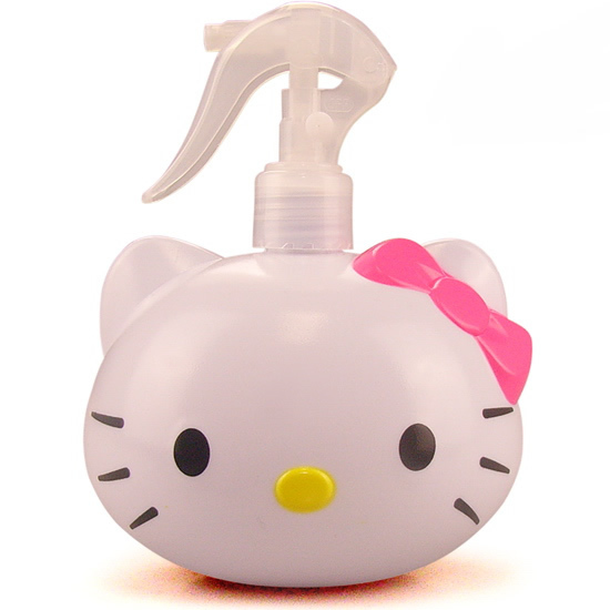 Free shipping 10 pcs/lot, HELLOKITTY Spray bottle spray gun Plastic perfume bottle Makeup tools Cartoon cute bottle for women